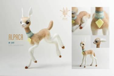 [NF] Baby Alpaca by ZimtBeadwork