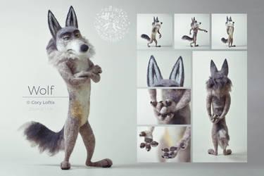 [NF] Wolf by ZimtBeadwork