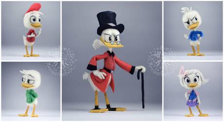 [NF] DuckTales Crew by ZimtBeadwork
