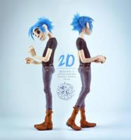 [NF] 2D by ZimtBeadwork