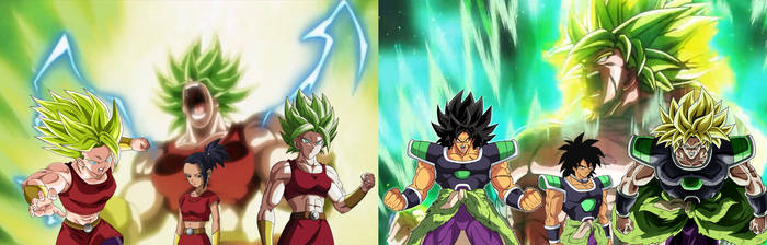 The Legendary Saiyans of Universe 6 and 7 by Goji1999
