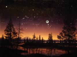 Evening Sky by DouglasCastleman