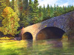 Yosemite Bridge by DouglasCastleman