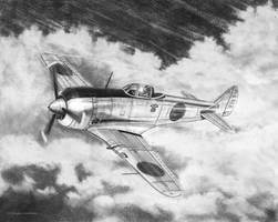 Nakajima Ki44 Shoki by DouglasCastleman