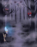 Ghosts by UndeadFae