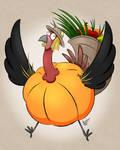 A turkey...? by UndeadFae