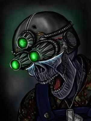 The Green Cloaks - Tech Dead by Jed-Stuart