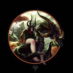 Demons Dragon Princess by Eduramisters