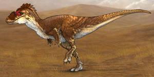 Evosaur art - Albertosaurus by mrXylax