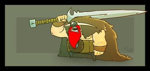 Sword Viking Dude by Ratrien
