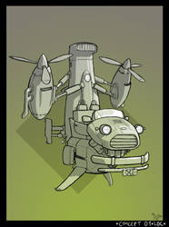 3dbg: Contest-Flying Personal Vehicle by Ratrien
