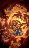 The Flying Monkeys by GoldenDaniel