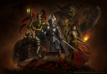 heroes by GoldenDaniel