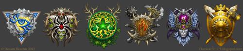 Faction Crests by GoldenDaniel