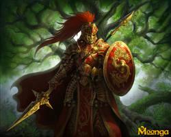 Moonga- Sayosian soldier by GoldenDaniel