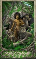 Jungle Book- Mowgli by GoldenDaniel