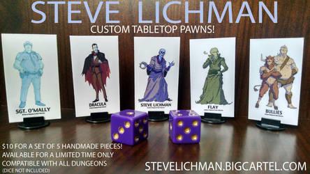 Steve Lichman Pawn Pack! by GoldenDaniel