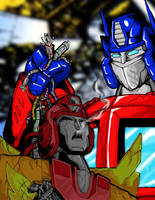 The ONLY Prime by Optimus8404