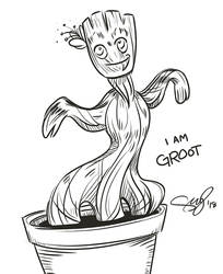 Groot by sunny-forever