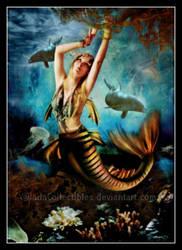Kelp Mermaid by JadaCollectibles
