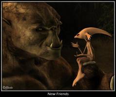New Friends by DestinysGarden