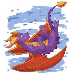 Spyro! by XyvernArtworks