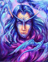 Malygos, Lord of Magic by Manticora-Miorro