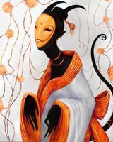 Gold Mask by Manticora-Miorro