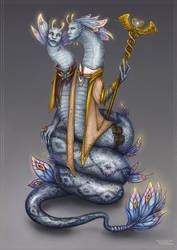 Fairyary 9 - Snakes by Manticora-Miorro