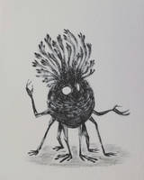 Forest spirit n.6 by Dendroabates