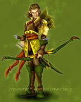 Elf Archer by vkacademy