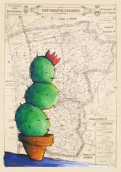 cactus in vacation by PORNOMILK