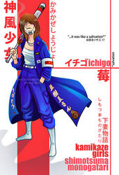 Kamikaze Ichigo by HenarTorinos