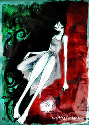 Waiting for her love by HenarTorinos