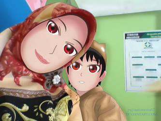 chubby boy and mom  by pujiantorestu67