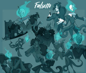 Falsetto Sketchpage by Vongulli