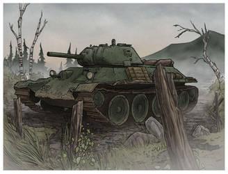 T-34 by jimmymcwicked