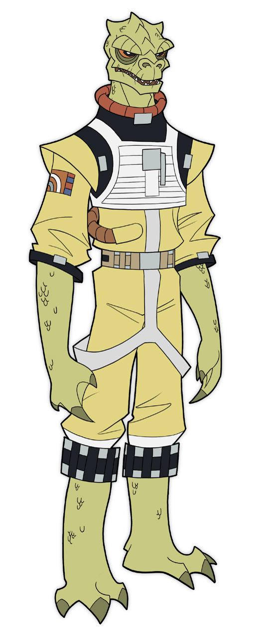 bossk by DC-Miller