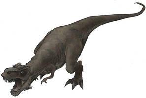 tyrannosaurus rex by jimmymcwicked