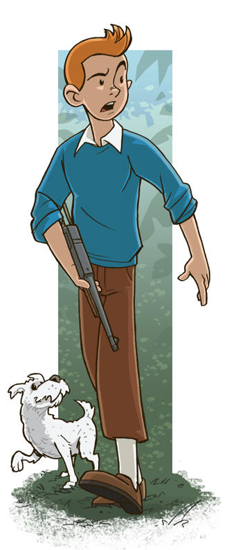 tintin by jimmymcwicked
