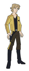 luke skywalker yellow jacket by DC-Miller