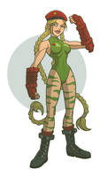 some fightn video game girl 01 by DC-Miller