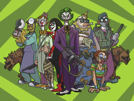 joker and his gang by DC-Miller