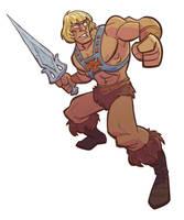 He-Man by jimmymcwicked