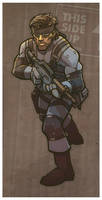 agent + mercenary of FOXHOUND by DC-Miller