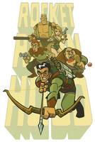 Rocket Robin Hood by jimmymcwicked
