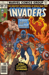 The Invaders Comic Book #20 by DC-Miller