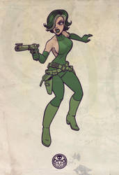 Viper... Madame Hydra... by jimmymcwicked