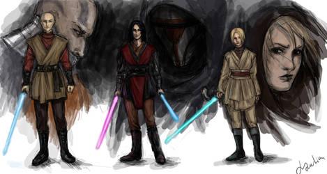 Jedies by DancinFox