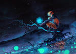 Naruto night sky by DimaFisher